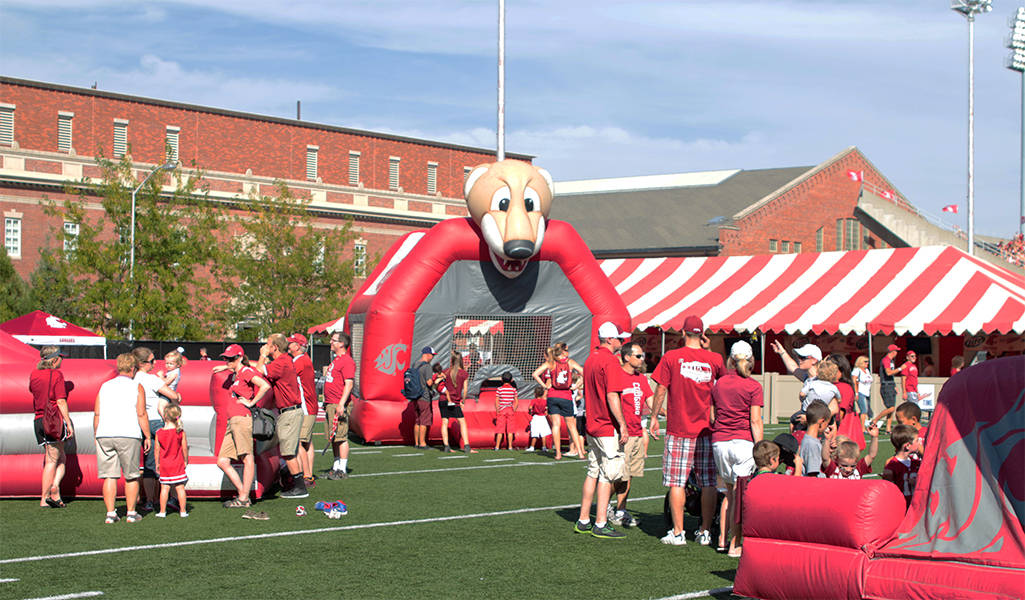 Cougville includes the Lair the Cougar Den presented by MillerCoors and the corporate tent area. The Cougar Den and corporate tents require credentials for ... & Cougar Football Pregame Events - Washington State University Athletics