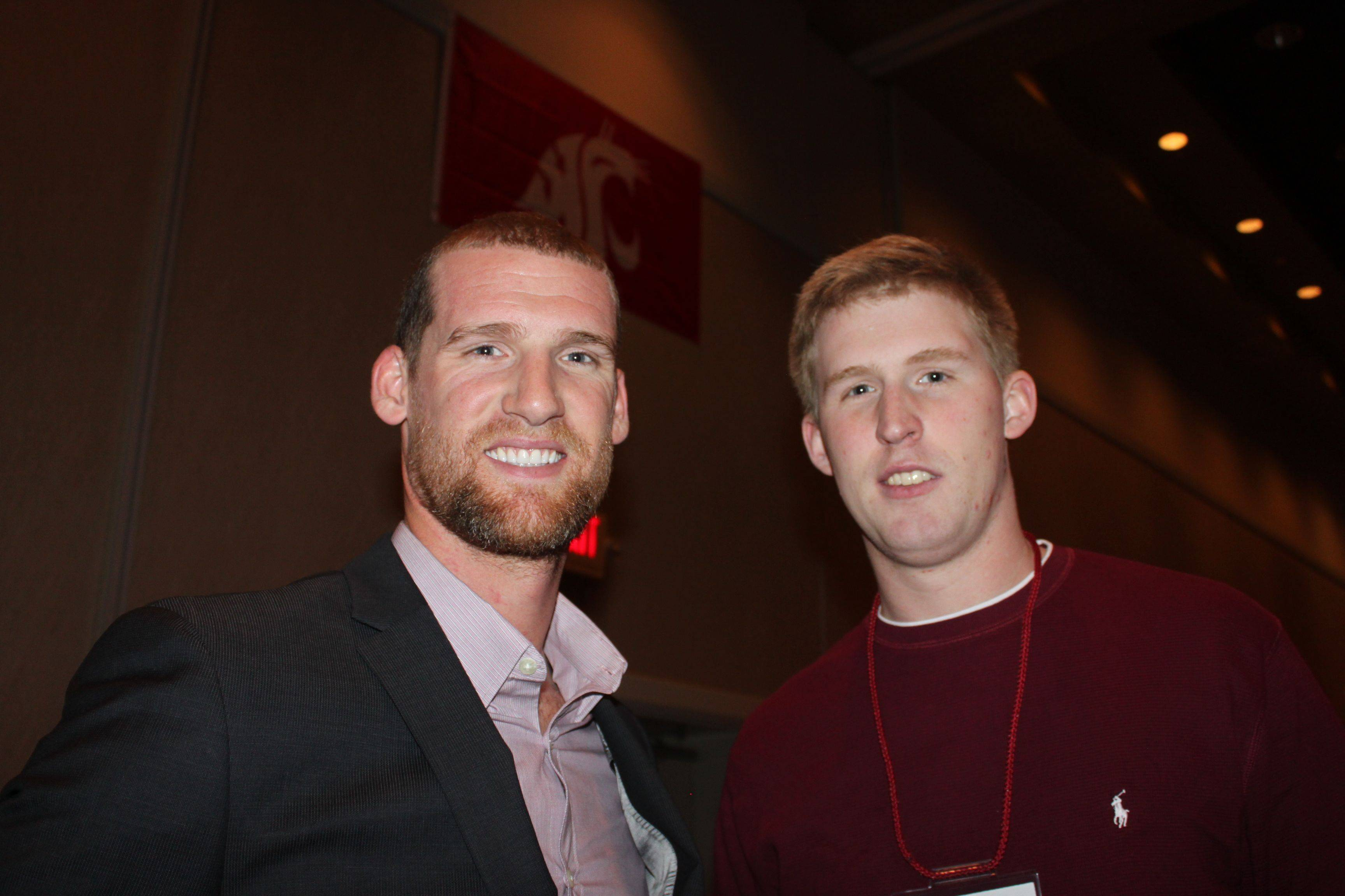 Alex Halliday alex brink returns to wsu for national signing day