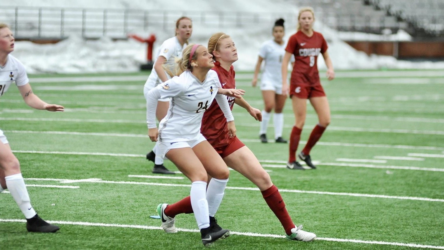 eee9ba4f676 Second Half Hat Trick Nets WSU The Spring Win. March 24, 2019 / Women's  Soccer